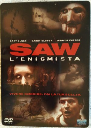 Saw L enigmista 2004 DVD steelbook