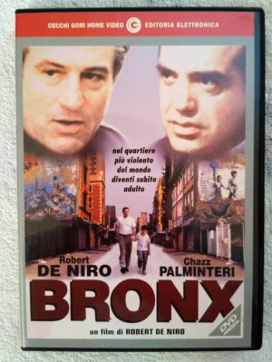 Bronx 1993 DVD Film diretto e interpretato da Robert De Niro