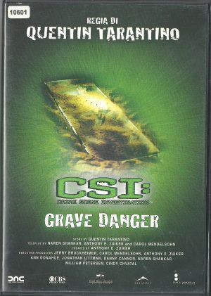 CSI – Grave Danger (2005) DVD