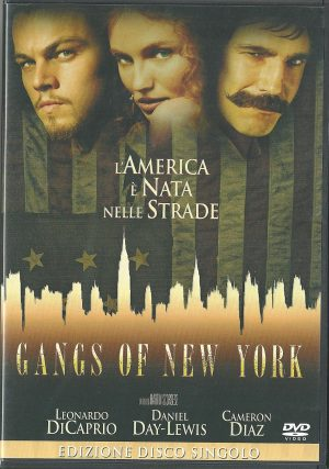 Gangs of New York 2002 DVD