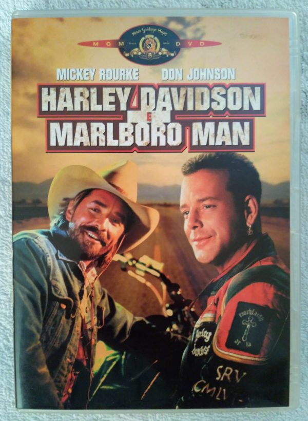 Harley Davidson   Marlboro Man 1991 DVD Film con Mickey Rourke