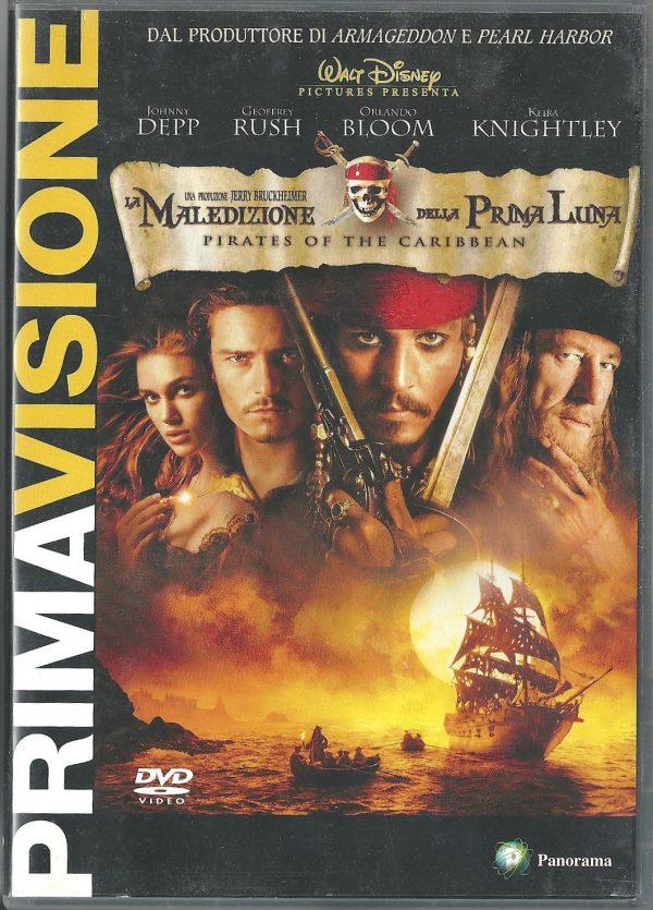 Pirati dei Caraibi – La Maledizione della Prima Luna 2003 DVD Panorama Prima Visione