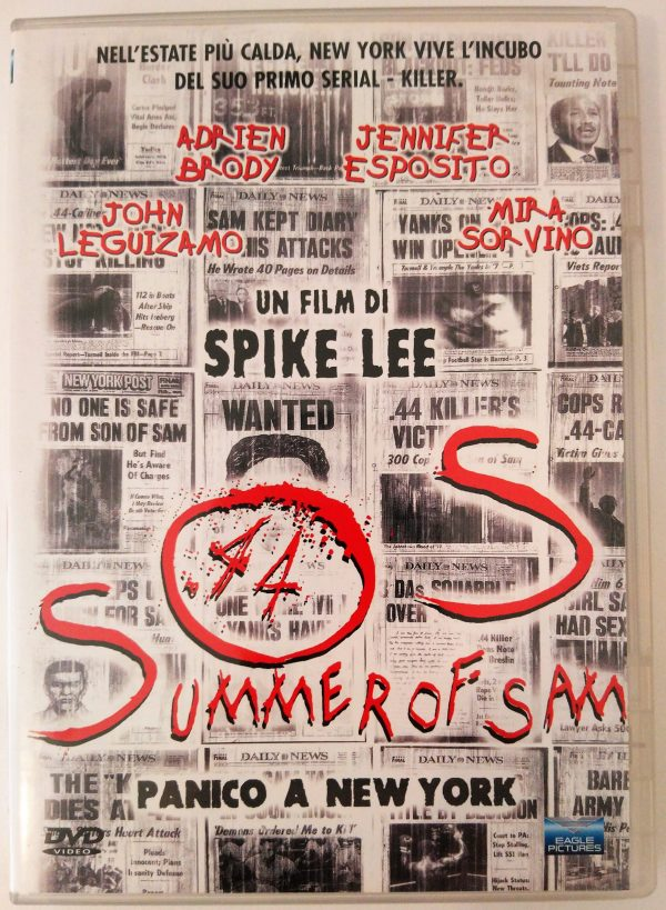 Summer of Sam Panico a New York 1999 DVD Spike Lee