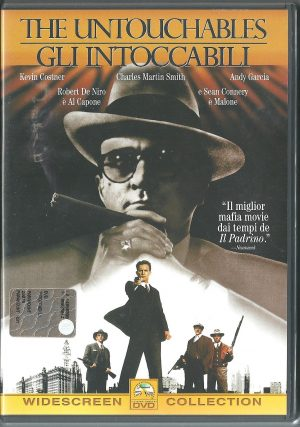The Untouchables Gli Intoccabili 1987 DVD