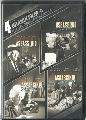 Agatha Christie Collection 1961 1963 1964 DVD Usato custodia originale rovinata