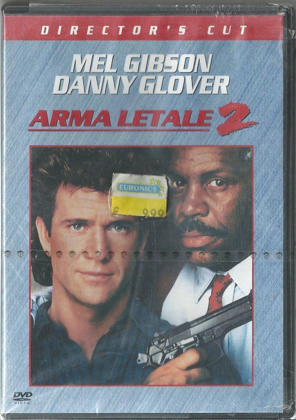 Arma Letale 2 1989 DVD Ricondizionato
