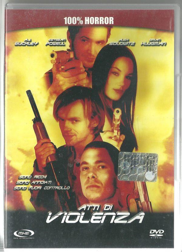 Atti di Violenza 1999 DVD Usato