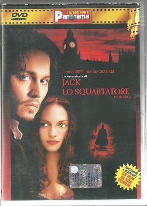 Jack lo Squartatore 2001 DVD Panorama Usato