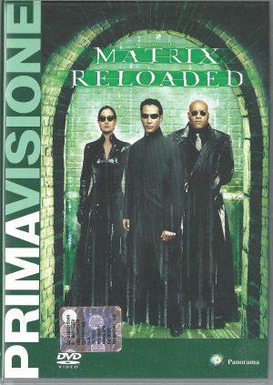 Matrix Reloaded 2003 DVD Panorama Prima Visione