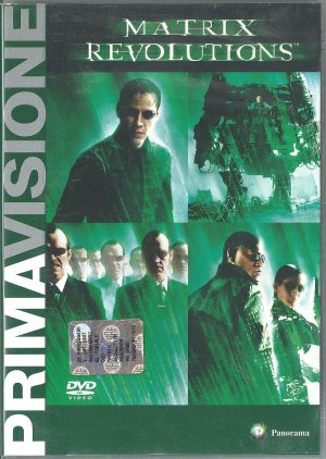 Matrix Revolutions 2003 DVD Panorama Prima Visione