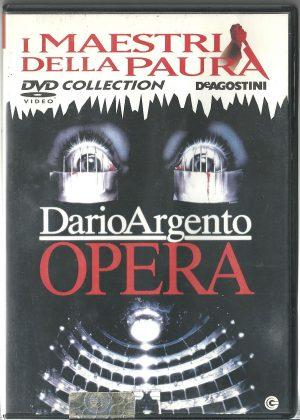 Opera Dario Argento 1987 DVD I Maestri della Paura DeAgostini Usato