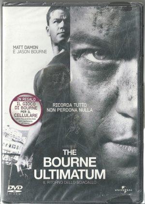 The Bourne Ultimatum 2007 DVD Ricondizionato