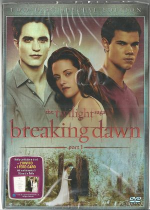 The Twilight Saga Breaking Dawn Part 1 2011 DVD Nuovo