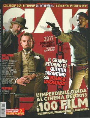 CIAK N°1 Gennaio 2013 – Rivista Cinema
