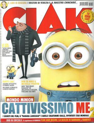 CIAK N°10 Ottobre 2013 – Rivista Cinema