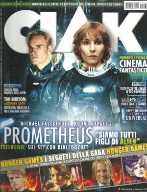 CIAK N°5 Maggio 2012 – Rivista Cinema