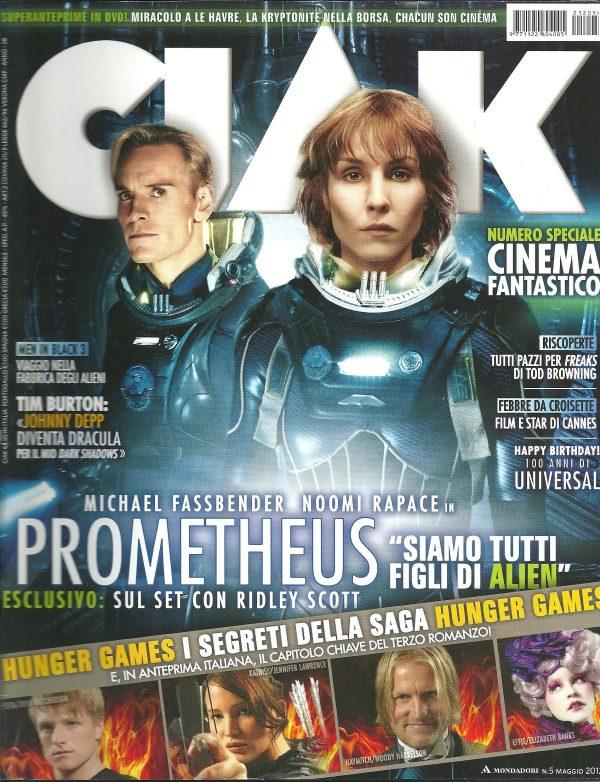 CIAK N°5 Maggio 2012 Rivista Cinema