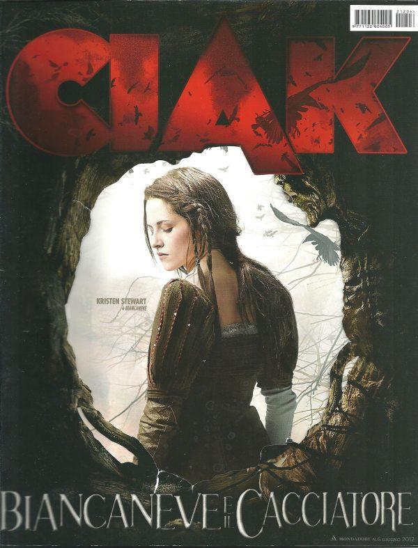 CIAK N°6 Giugno 2012 Rivista Cinema