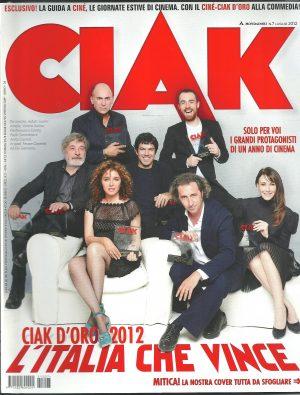 CIAK N°7 Luglio 2012 – Rivista Cinema