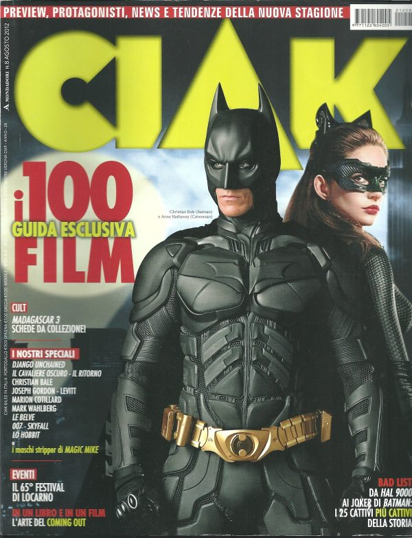 CIAK N°8 Agosto 2012 Rivista Cinema