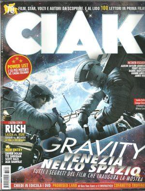 CIAK N°9 Settembre 2013 – Rivista Cinema